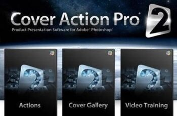 Cover Action Pro 2 - Product Presentation Software for Adobe Photoshop [DVD FULL] 3