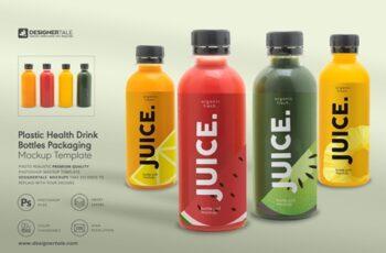 Health Drink Bottles Mockup 4131819 3