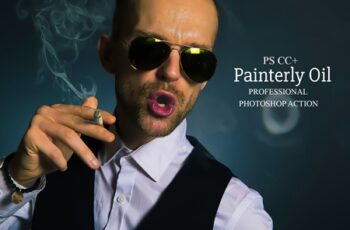 Painterly Oil - Photoshop Action 4117233 5