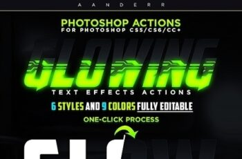 Glowing Text Effects Photoshop Actions 24478491 3