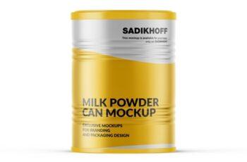 Milk Powder Can Mockup 4075943 3
