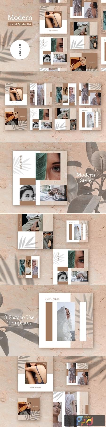 Modern Social Media Kit (Vol. 32) 4082526 1
