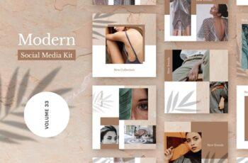 Modern Social Media Kit (Vol. 32) 4082526 5
