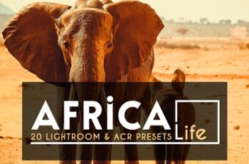 20 Africa Life Lightroom &ACR Preset 4118145 6