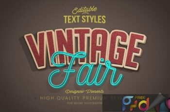 Vintage Retro Text Style 3752163 5