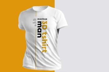 4 3D T-Shirt Mockups 279378554 6