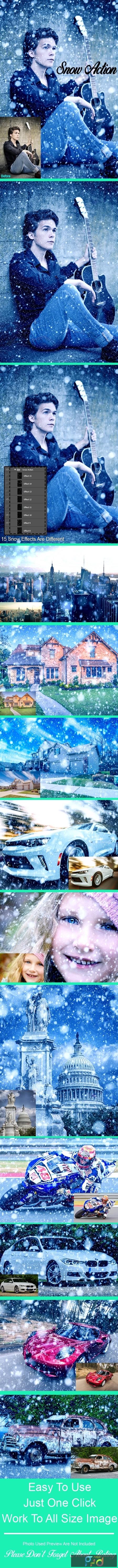 Amazing 15 Snow Photoshop Action Vol 1 22998824 1