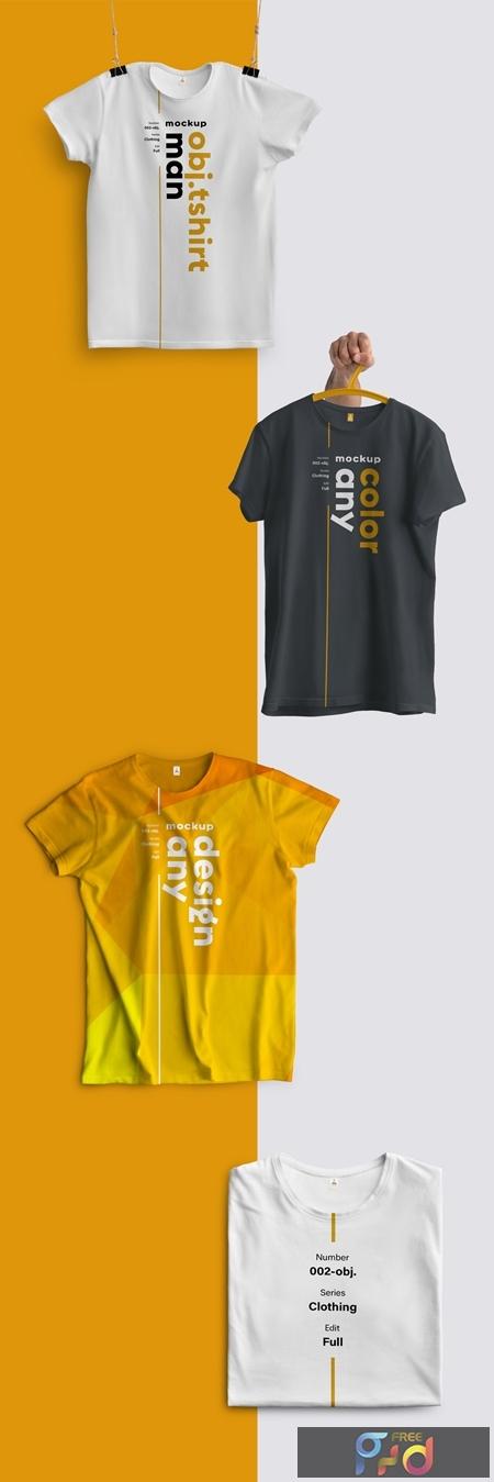 4 T-Shirt Mockups 279370157 1