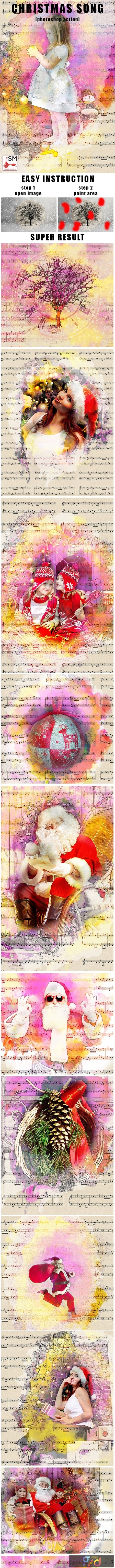Christmas Song Photoshop Action 21141296 1