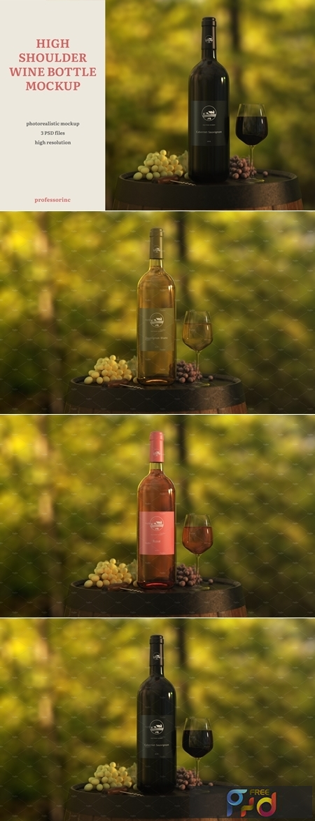 High Shoulder Wine Bottle Mockup 4159896 1