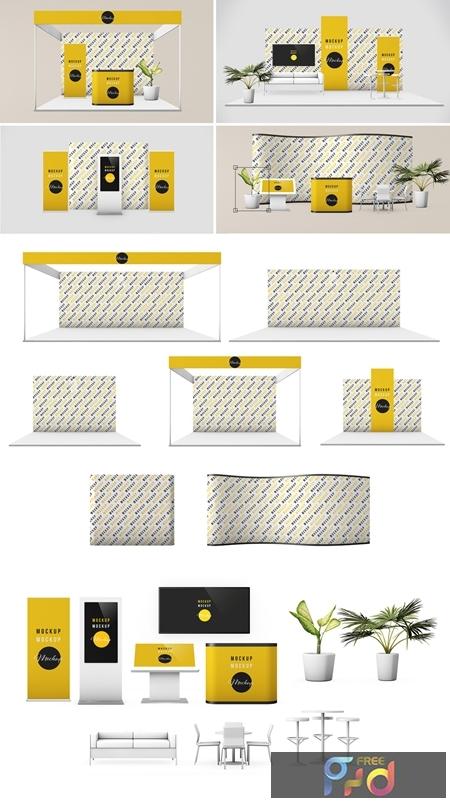 Exhibition Stand Scene Creator Art Kit 282675751 1