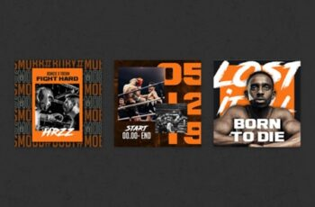 Boxing Instagram Templates 1816703 6