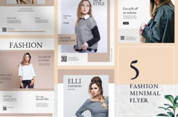 Fashion Minimal Flyer Templates 1816699 7