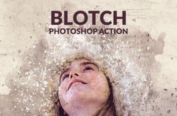 Blotch Photoshop Action 22920685 1