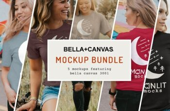 The Women's Bella Canvas 3001 Bundle 4081392 4