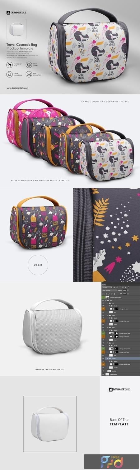 Travel Cosmetic Bag Mockup 4119445 1