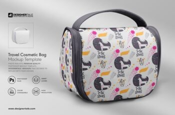 Travel Cosmetic Bag Mockup 4119445 5