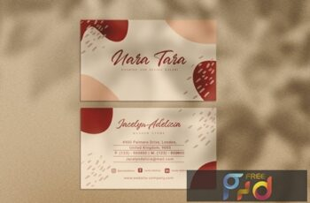 Nara Business Card XBDKAC7 6