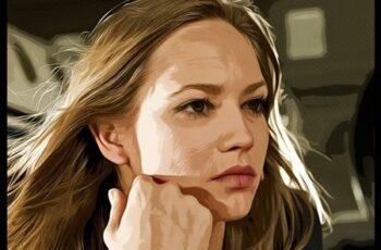 Portrait Oil Painting & Comics Action 24472363 4