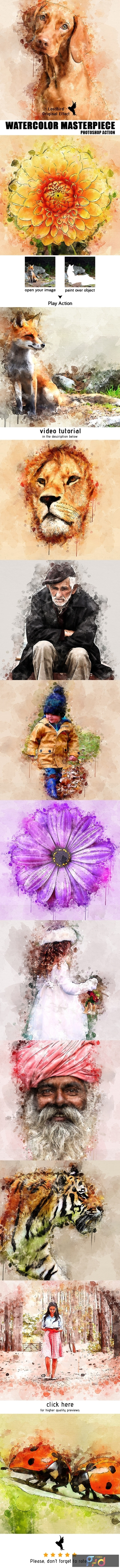 Watercolor Masterpiece - Photoshop Action 22921333 1