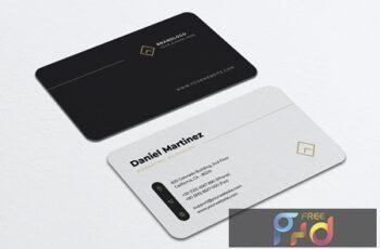 Minimalist Business Card Vol.45 GTZUE6S 7