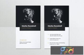 Minimalist Business Card Vol.49 EL6QCF9 2