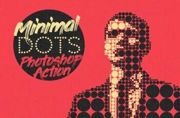 Minimal Dots Photoshop Action 4079709 6