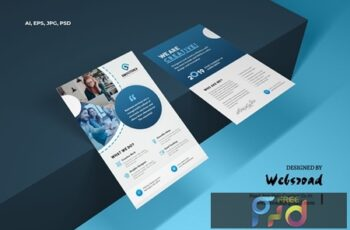 Creative Business & Corporate Flyer Template S67PF2D