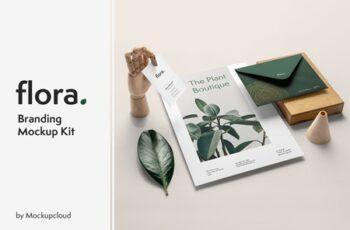 Flora Branding Mockup 4117037 3