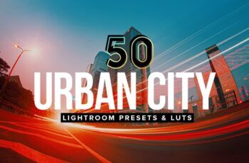50 Urban City Lightroom Presets and LUTs 4154607 7