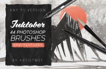 Inktober 2019 Photoshop Brushes 4168136