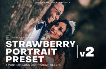 DC Strawberry Portrait Lightroom 4102215 4