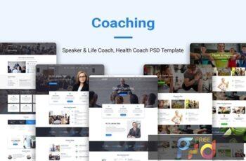 Coaching Speaker & Life Coach, Health Coach PSD ZHSQMKW 5