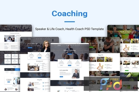 Coaching Speaker & Life Coach, Health Coach PSD ZHSQMKW 1
