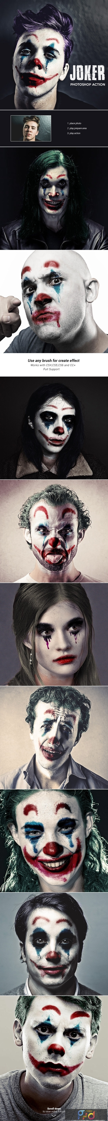Joker - Photoshop Action 24686406 1