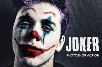 Joker - Photoshop Action 24686406