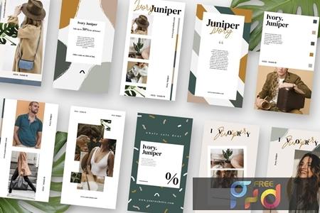 Ivory Juniper Stories Template PGTC6BM 1