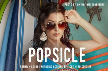 Popsicle Photoshop Action 4100061 6