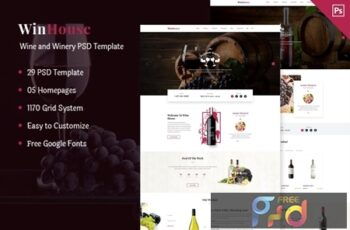 Wizym Wine & Winery PSD Template FPX3WGH 8