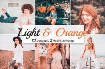 Light & Orange Presets Pack 4141879 5