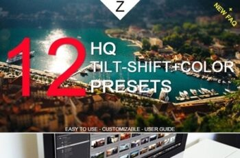 12 HQ Tilt-Shift+Color Presets 10453283 3