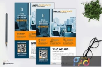 Hiness - Business Flyer Template T9PKZ5Y 7