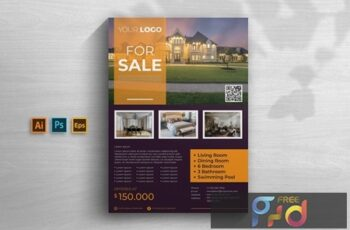 Real Estate Flyer VHN5Y8C 7