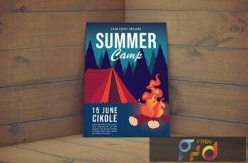 Summer Camp Flyer V2J4WCU 4