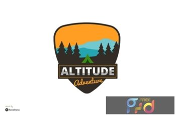 Altitude Adventure Logo - Creative Logo Template RB P9AM324 12