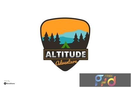 Altitude Adventure Logo - Creative Logo Template RB P9AM324 1