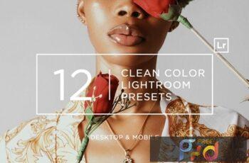 12 Clean Color Lightroom Presets + Mobile 9KTBP6Z 6