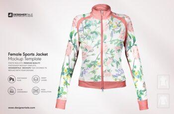 Female Fitness Jacket Mockup 4103681 4