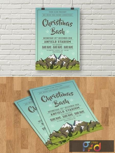 Christmas Bash Flyer Template 1831620 1