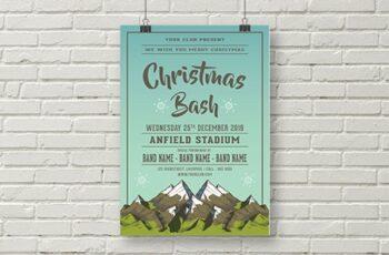 Christmas Bash Flyer Template 1831620 5